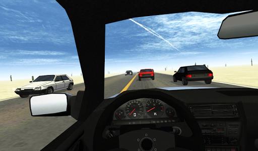 Игра Desert Traffic Racer для планшетов на Android