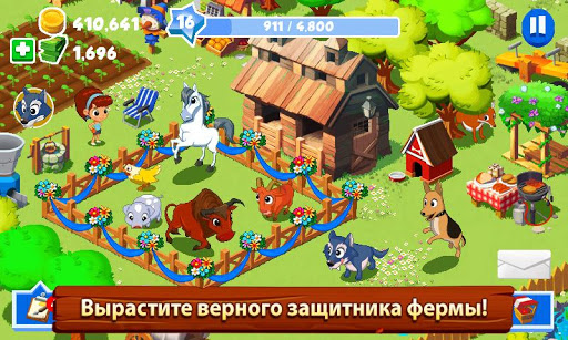 """Игра """"Farm Frenzy 3"""" на Андроид"""