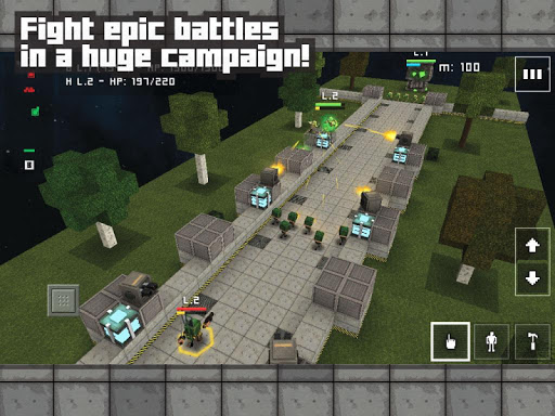 Block Fortress: War для планшетов на Android