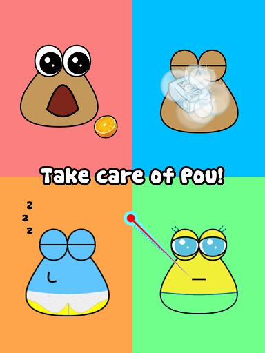 Игра Pou на Андроид