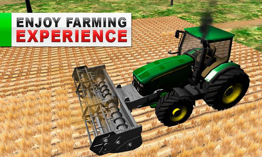 Green Farm Tractor Simulator