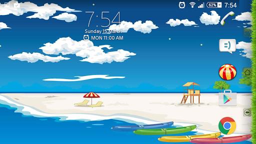 Theme eXPERIAnz - SUMMER на Андроид
