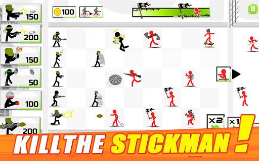 Stickman Army: The Defenders скачать на Андроид