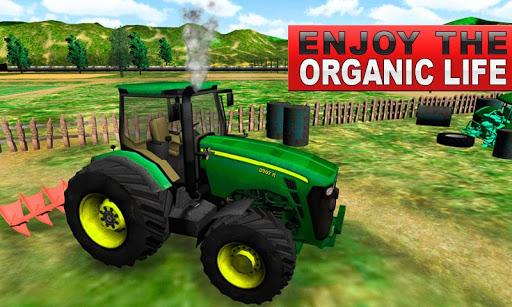 Green Farm Tractor Simulator скачать на планшет Андроид