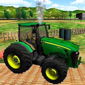 Green Farm Tractor Simulator