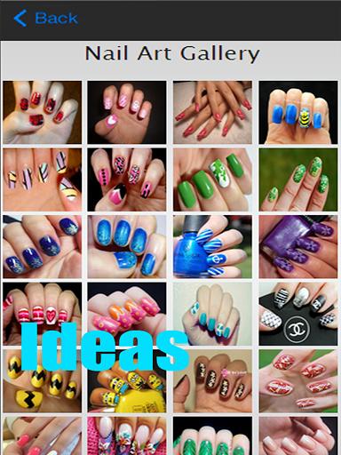 Приложение Nail design ideas для планшетов на Android