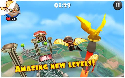 """Игра """"Running Fred"""" для планшетов на Android"""