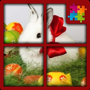 Заяц и Яйца. Пазлы