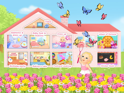 Sweet Baby Girl Dream House на Андроид