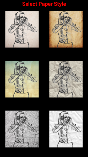 Фоторедактор Paper Artist для планшетов на Android