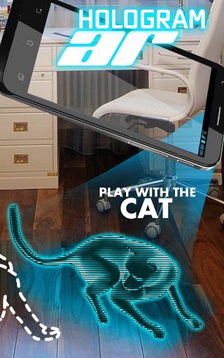 AR Голограмма Кот Tom скачать на планшет Андроид