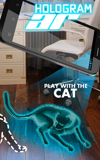 AR Голограмма Кот Tom скачать на Андроид