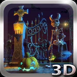 Halloween Cemetery 3D LWP