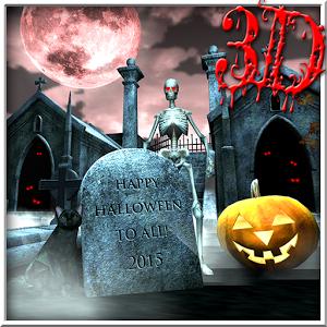 Halloween Graveyard 3D