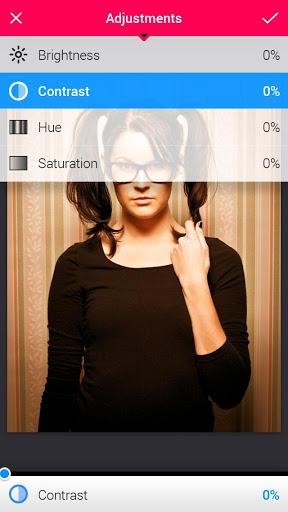 "Фоторедактор ""Uber Iris for Tablets"" для планшетов на Android"