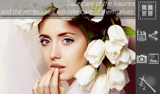 Приложение Luxury Photo Wrap Insta для планшетов на Android