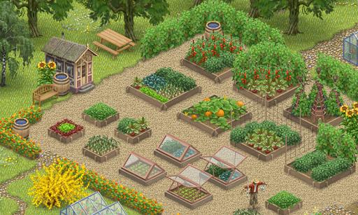 Inner Garden: Vegetable Garden на Андроид