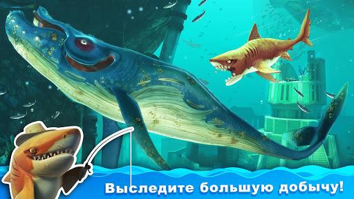 Hungry Shark World скачать на планшет Андроид
