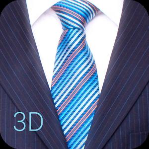 Как завязывать галстук -3D Pro