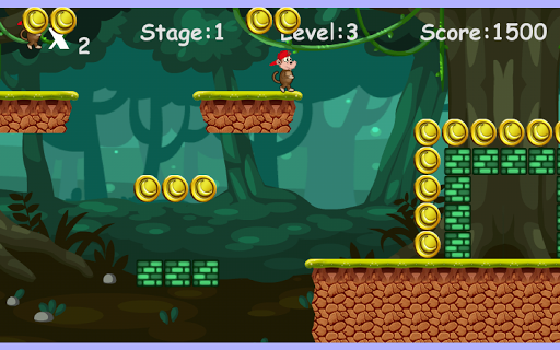 Игра Jungle Monkey Run на Андроид
