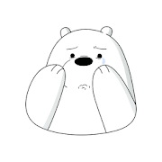 Ice Bear Sticker for WhatsApp