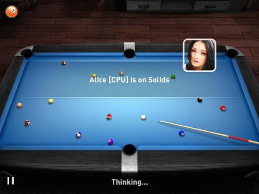 """Игра """"Real Pool 3D"""" на Андроид"""