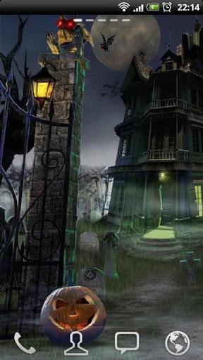 "Живые обои ""Haunted House HD"" на Андроид"