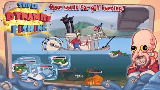 Игра Super Dynamite Fishing на Андроид