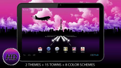"Живые обои ""Aircraft Free HD"" для планшетов на Android"