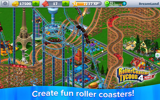 RollerCoaster Tycoon® 4 Mobile для планшетов на Android