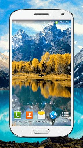 "Живые обои ""Mountain Lake Live"" на Андроид"