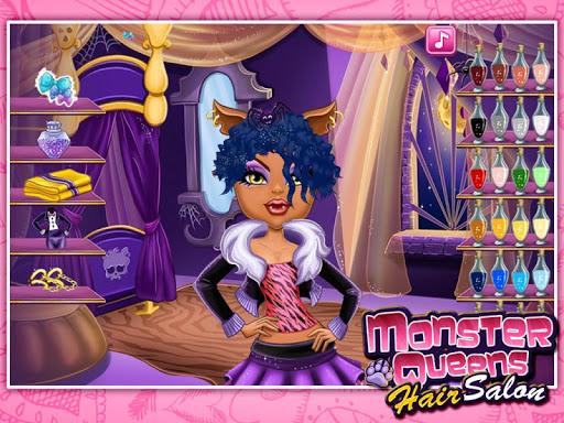 Игра Monster Queens Hair Salon для планшетов на Android