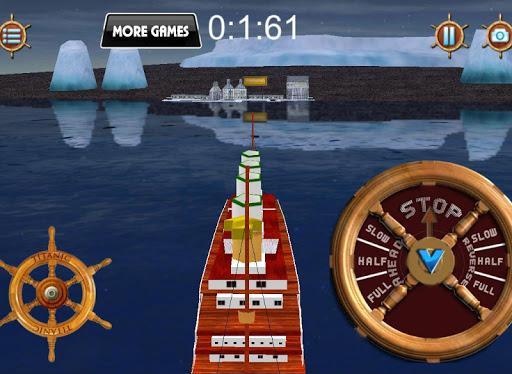 Игра Ocean liner 3D ship simulator для планшетов на Android