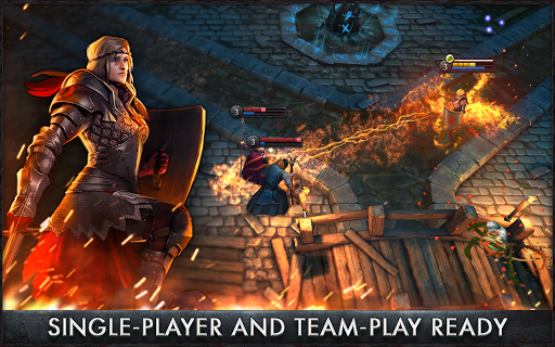 The Witcher Battle Arena для планшетов на Android