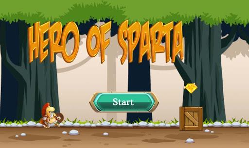 Игра Hero Of Sparta для планшетов на Android