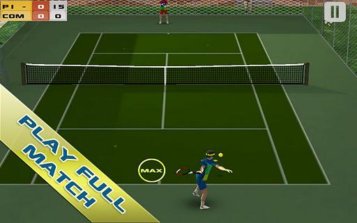Игра Cross Court Tennis для планшетов на Android
