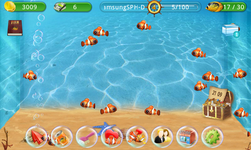 Игра Аквариум рыбы на Андроид