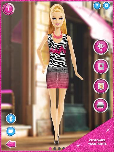 Игра Barbie Fashion Design Maker на Андроид