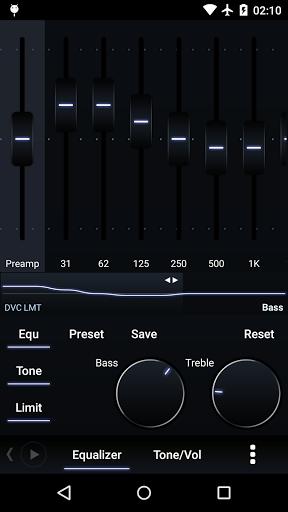 Музыкальный прогрыватель Power Amp на Андроид