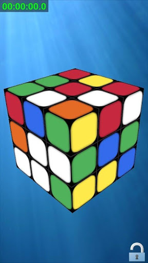 Живые обои 3D Rubik Cube для планшетов на Android