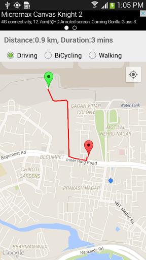 GPS-схема проезда скачать на Андроид