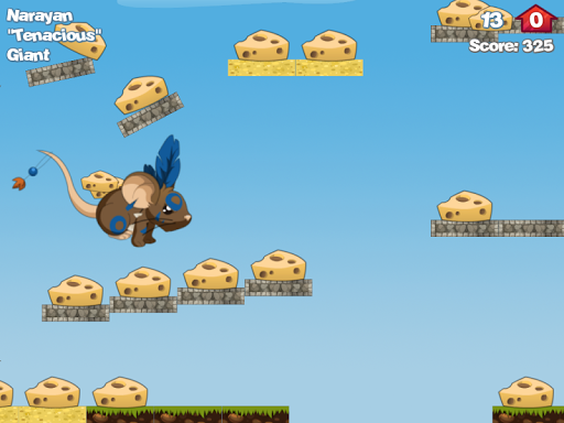 Run for Cheese для планшетов на Android