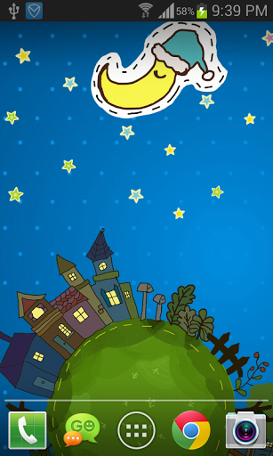 Мультфильм City Live Wallpaper скачать на планшет Андроид