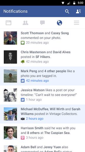 Facebook скачать на планшет Андроид