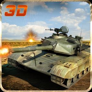 Война. Боевой танк. Зона — 3D