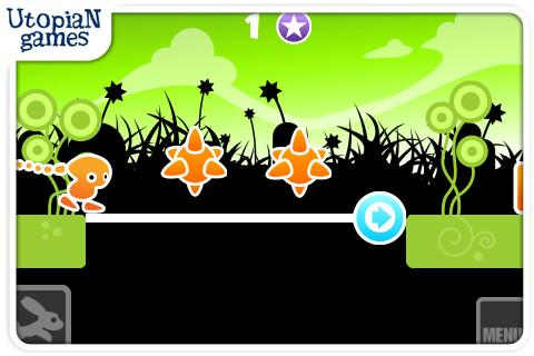 "Игра ""Wild Jumping"" на Андроид"