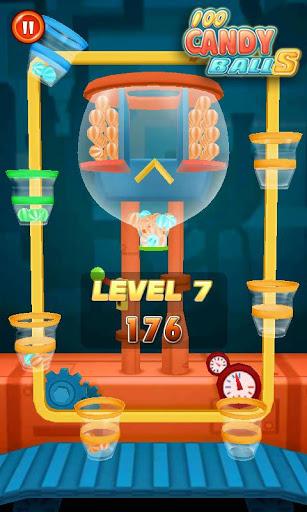 Игра 100 шариков - 100 Candy Balls на Андроид