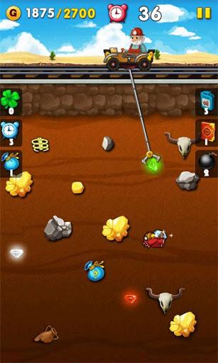 Gold Miner для планшетов на Android