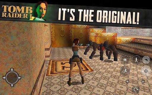 Tomb Raider I для планшетов на Android