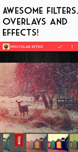 Приложение Retro camera -Vintage grunge на Андроид